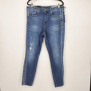 Blank NYC The Bond Mid Rise Skinny Jeans Sz 31